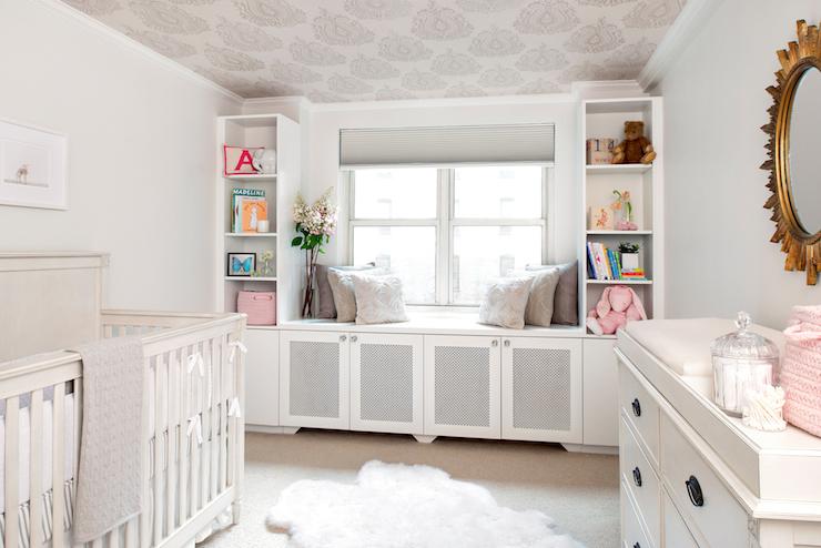 Nursery Window Seat - Transitional - nursery - AE Design