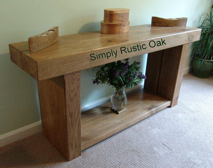 Rustic+furniture | We Can make rustic oak living room furniture to