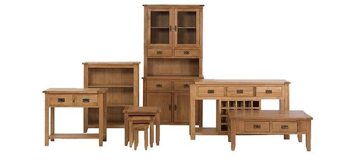 Rustic Oak Furniture Collection | Lifestyle Furniture UK