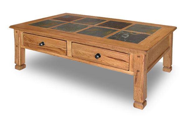 sedona Rustic Oak Cocktail Table 3143-C | AFW
