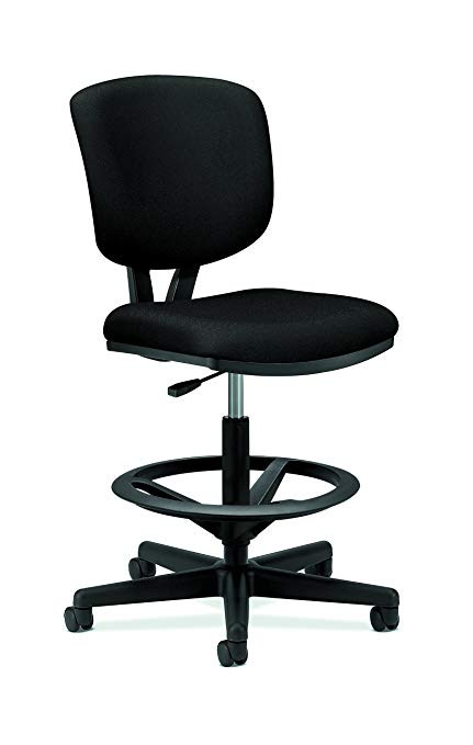 Amazon.com: HON H5705.GA10.T Volt Task Stool - Upholstered Office
