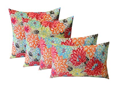 Amazon.com: Set of 4 Indoor / Outdoor Pillows - 17