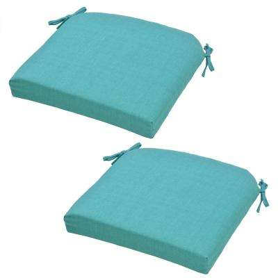 Knife Edge - Solid - Olefin - Outdoor Chair Cushions - Outdoor