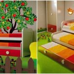 Pull-out bed for children