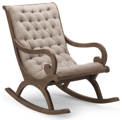 Grayson Rocker Chair - Traditional - Rocking Chairs - by Grandin Road