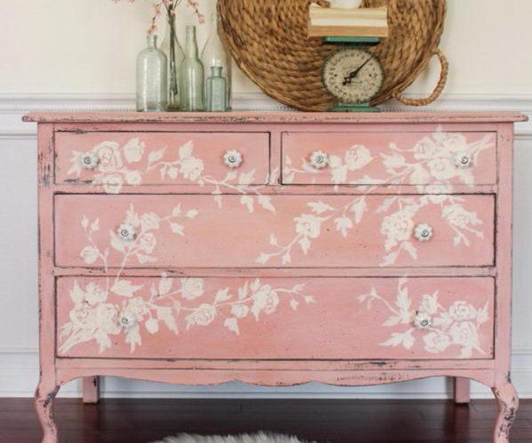 Fantistic DIY Shabby Chic Furniture Ideas & Tutorials 2017