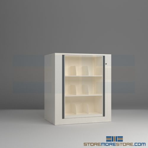 Letter Size Pivot File Shelf Cabinet | Pivoting Storage Cabinets