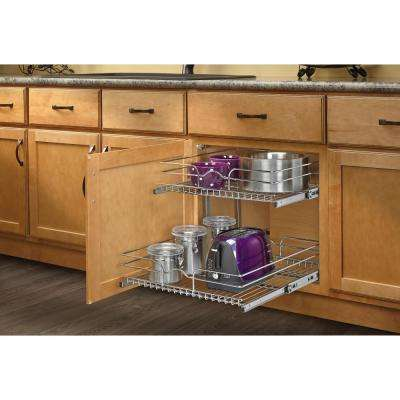 Pull Out Cabinet Organizers - Kitchen Storage & Organization - The