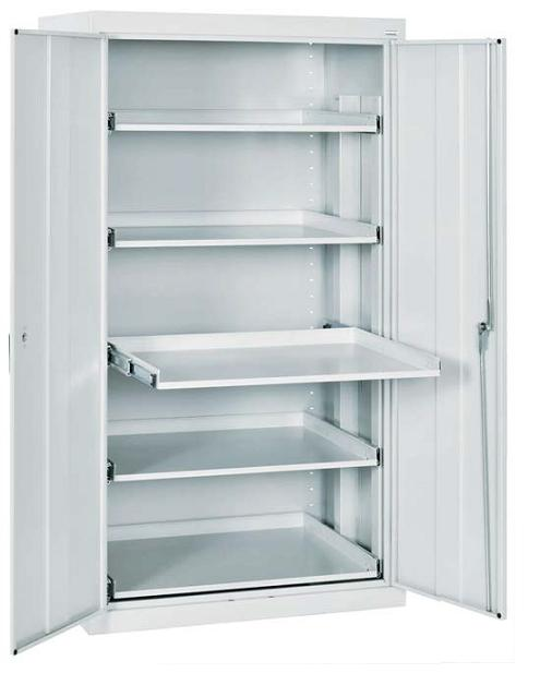 Sandusky Lee Storage Cabinet W/ Five Pull-Out Shelves (36