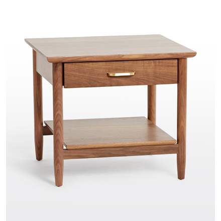 Shaw Walnut Side Table | Rejuvenation