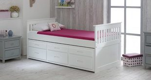 Single Bed With Trundle   Wayfair