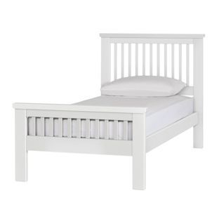 Buy Collection Aubrey Single Bed Frame - White at Argos.co.uk, visit