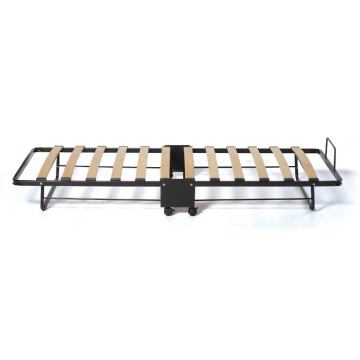 DJ-PQ08, China movable folding cot metal slats bed frame bed