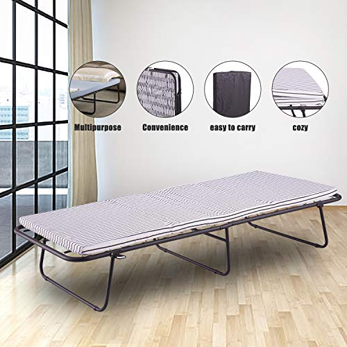 Amazon.com: Folding Camping cot,Portable Guest Bed,Collapsiable Cot