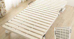 best99: Folding bed Slatted bed base bed single color 5-color