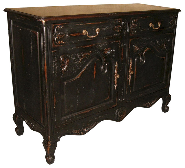 Small Sideboard French Country Wood - Farmhouse - Buffets And