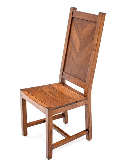 Restoration Hardwood Dining Chair, Barn Wood Chair, Rustic Dining Chair