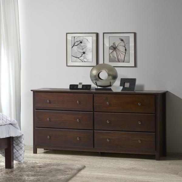 Shaker 6-Drawer Dresser u2013 Grain Wood Furniture