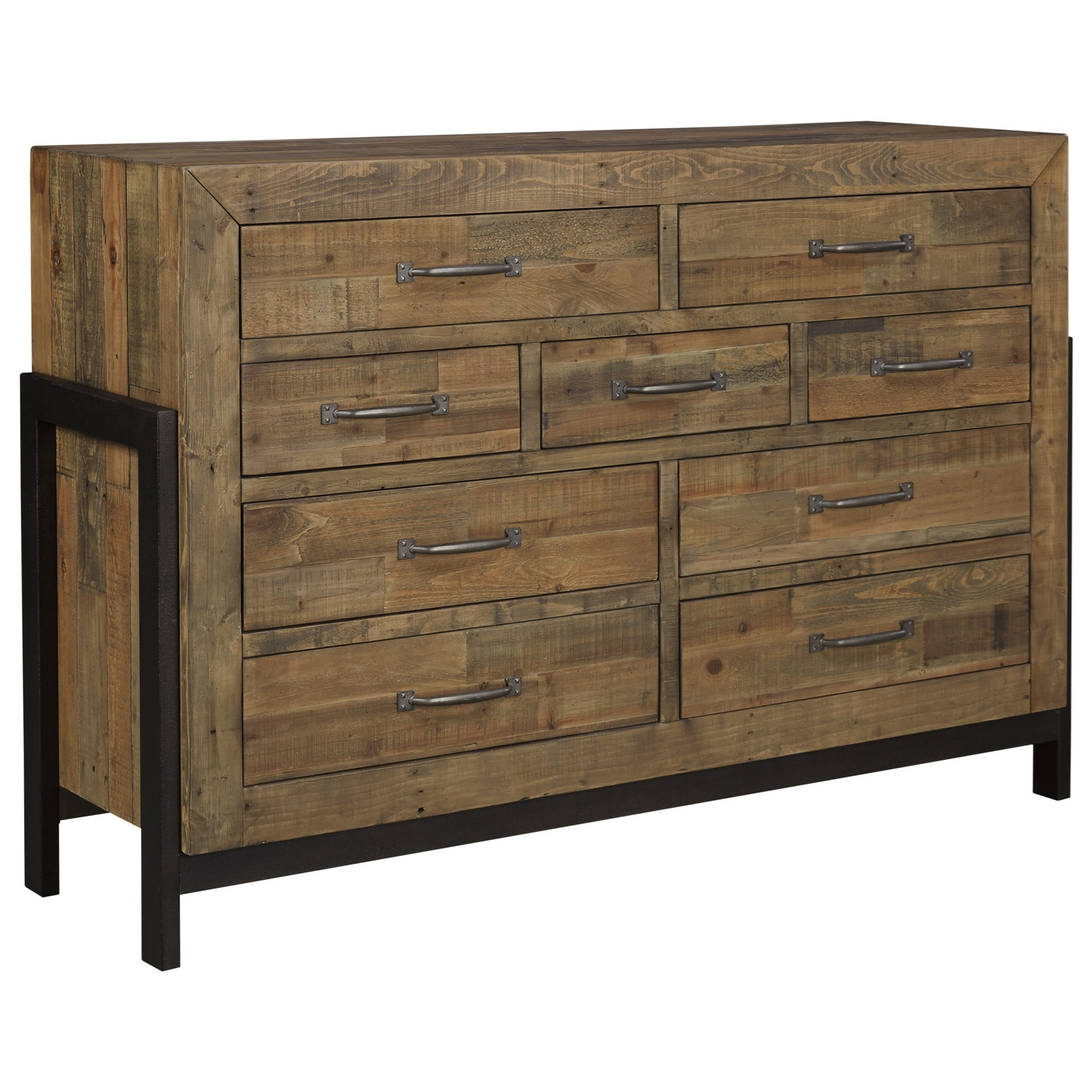 Signature Design by Ashley Sommerford Reclaimed Pine Solid Wood