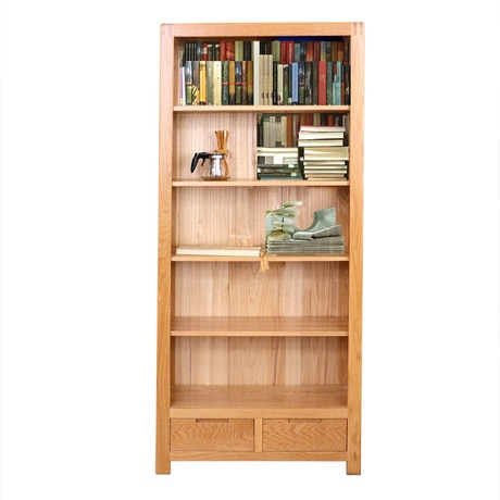Bookcases Living Room Furniture Home Furniture oak solid wood