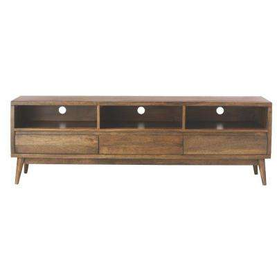 Solid Wood - TV Stands - Living Room Furniture - The Home Depot