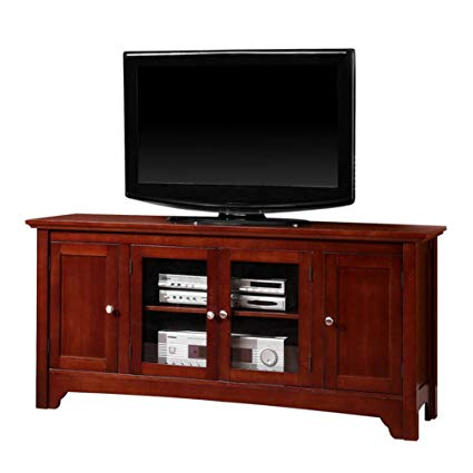Amazon.com: Walker Edison Solid Wood TV Stand: Home & Kitchen