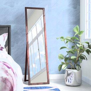 Bedroom Standing Mirror | Wayfair