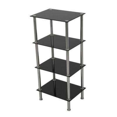 Free Standing Shelves - Glass - Freestanding Shelving Units