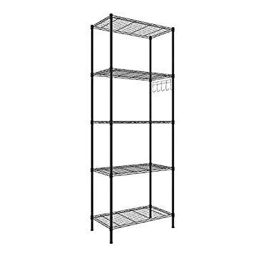 Amazon.com: Homdox 5 Tier Shelving Unit Kitchen Storage Shelf Heavy