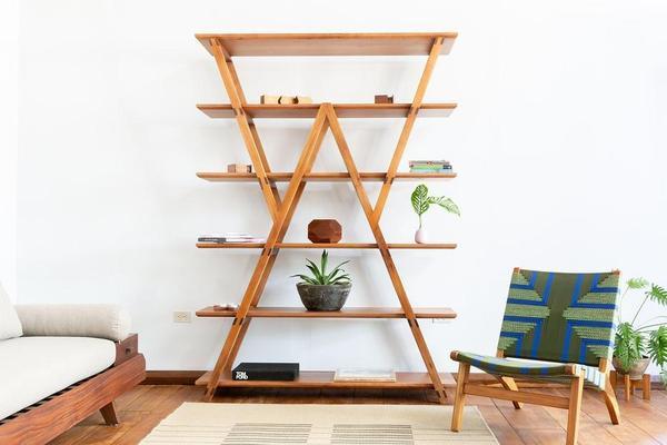 Watson Standing Hardwood Shelves | Handmade u2013 Masaya & Co.