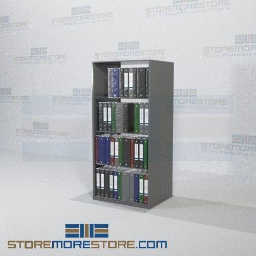 Free Standing Shelves Adjustable Medical Binder Shelving 64