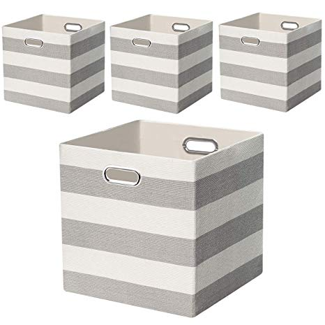 Amazon.com: Posprica Large Collapsible Storage Bins Boxes Cubes