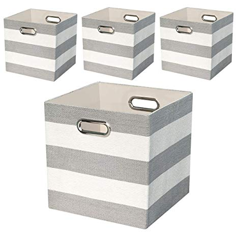 Amazon.com: Posprica Collapsible Storage Cube Bins Boxes Basket