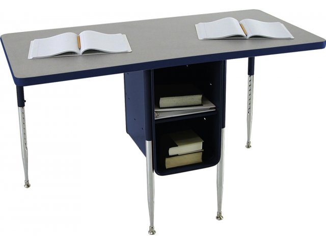 Adjustable Height Double School Desk 24