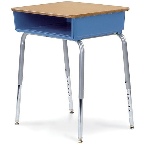 Virco 785 Open Front Desk | Desks | Classroom Essentials Online