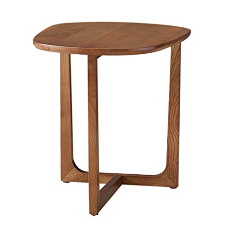 Amazon.com - ZHIRONG Solid Wood Side Table Mini Coffee Table