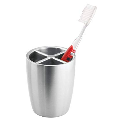 Amazon.com: InterDesign Forma Toothbrush Holder Cup - Bathroom