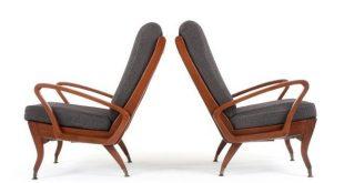 Two Wrightbilt 'TV' Armchairs - Mr. Bigglesworthy Designer Vintage