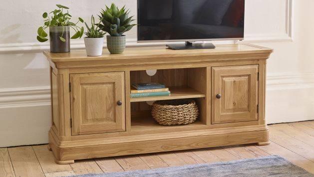 Oak TV Units & Stands | Solid Wood TV Cabinets | Oak Furnitureland