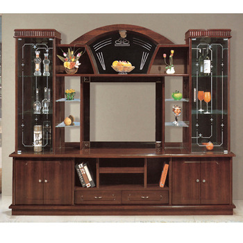 Hot Designs Mdf Tv Stands With Showcase 841 India Style Tv Cabinets