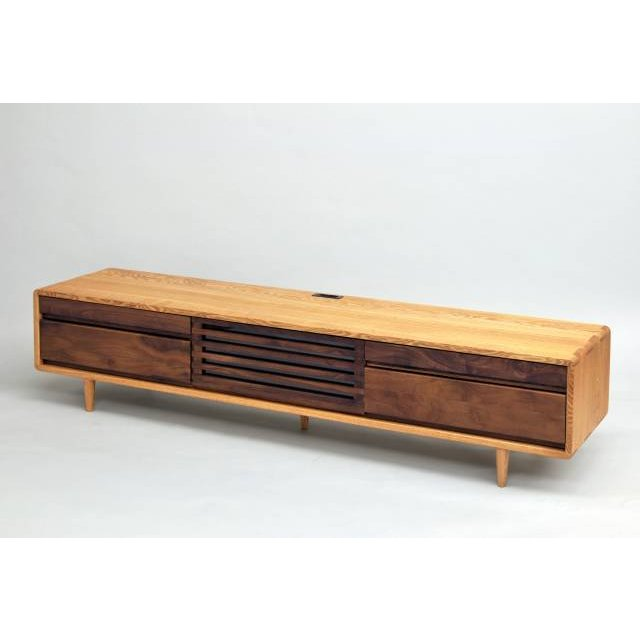 Wood Gallery ITSUKI: TV stand tv Board tv Board snack TV lowboard AV