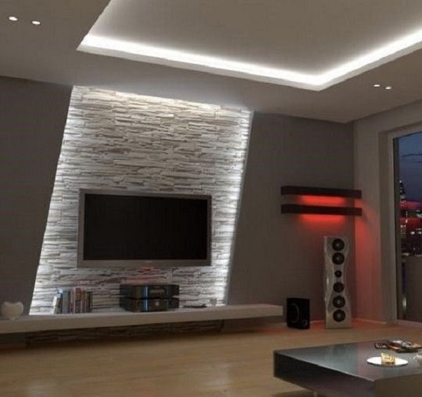 Show off the home cinema with a TV wall!