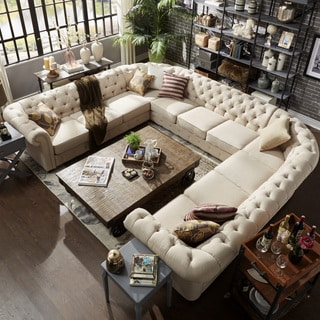 Buy U-Shape Sectional Sofas Online at Overstock.com | Our Best