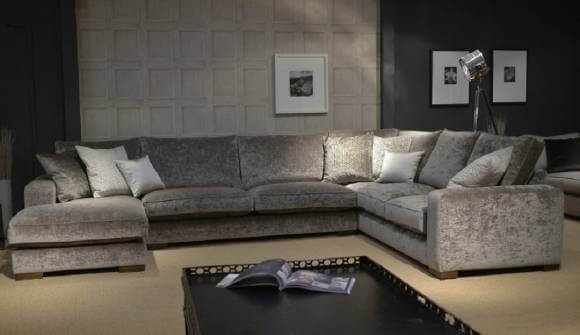 U Shaped Sofa | Darlings of Chelsea
