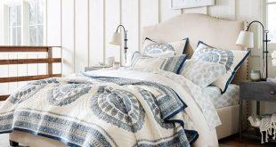 Upholstered Beds, Upholstered Bed Frames & Fabric Beds   Pottery Barn