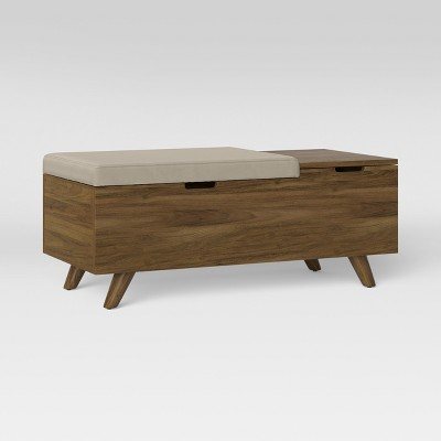 Meller Wood And Upholstered Bench - Project 62™ : Target