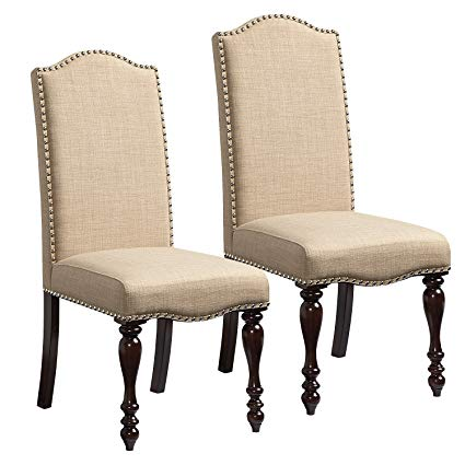 Amazon.com - Standard Furniture McGregor 2-Pack Upholstered Side