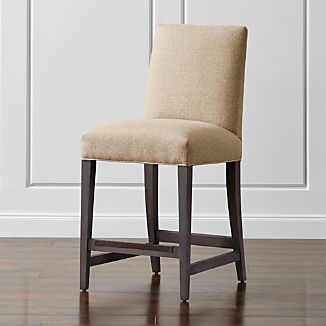 Upholstered Stools | Crate and Barrel