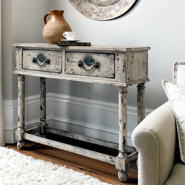 DIY vintage furniture u2013 3 Techniques to distressed | Interior Design