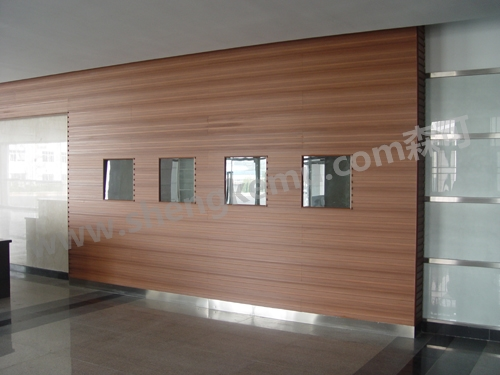 WPC wall board project - WPC outdoor flooring、 wall board panel